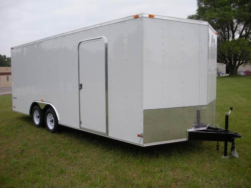 2018 Look Trailers Element 85 Flat Top Cargo Se 7k Cargo / Enclosed Trailer