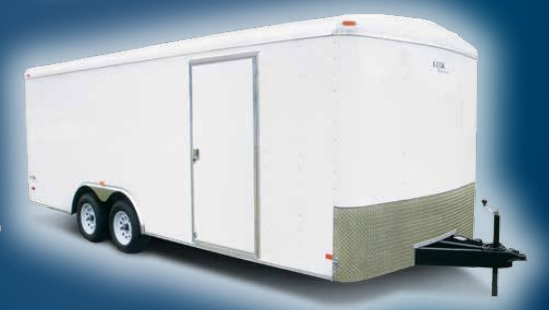 2018 Look Trailers Element Round Top Auto 10k Car / Racing Trailer