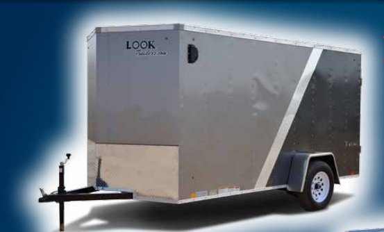 2017 Look Trailers Element Cargo Flat Top Cargo / Enclosed Trailer