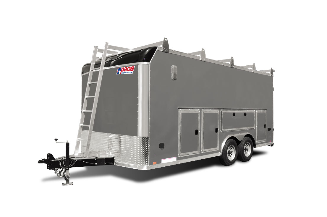 2021 Pace American Pxt Toolbox Cargo Dlx Flat  Cargo / Enclosed Trailer