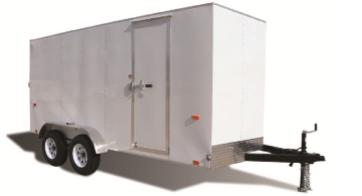 2021 Pace American Metro Cargo Flat  Cargo / Enclosed Trailer