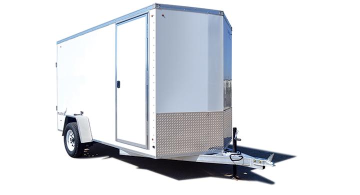 2018 Look Trailers Aluminum Platinum 6 Wide Single Cargo Cargo / Enclosed Trailer