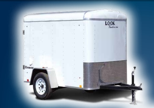 2019 Look Trailers Element Round Top Cargo Cargo / Enclosed Trailer