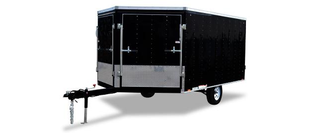 2018 Cargo Express Xl Denali Snowmobile Trailer Cargo / Enclosed Trailer