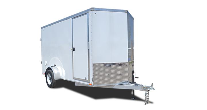 2018 Cargo Express Ax Aluminum 7 Wide Tandem Cargo Cargo / Enclosed Trailer