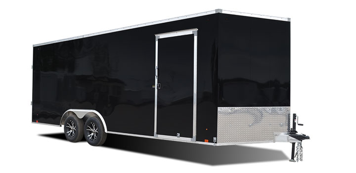 2018 Cargo Express Aluminum Ax Flat Top Auto Car / Racing Trailer