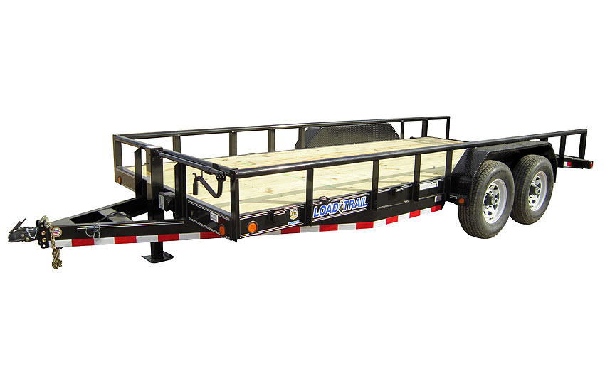 "2016 Load Trail 83"" X 20' Tandem Carhauler w/6"" Channel Frame & Pipe Top"