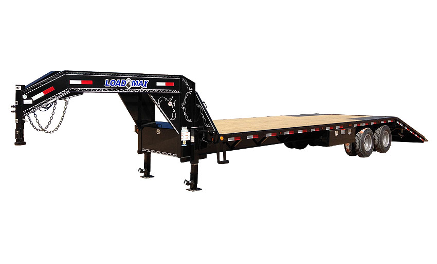 """2017 Load Trail 102"""" x 32' Heavy Duty Gooseneck 2-10,000 lb Axles W/Hyd. Dove"""