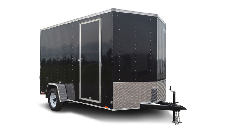 2018 Cargo Express Xlw 7' Wide Cargo Flat Top Cargo / Enclosed Trailer