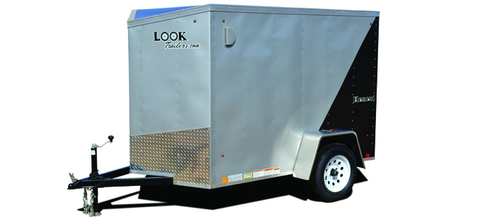 2018 Look Trailers Element Ft 4 Wide Single Cargo Cargo / Enclosed Trailer