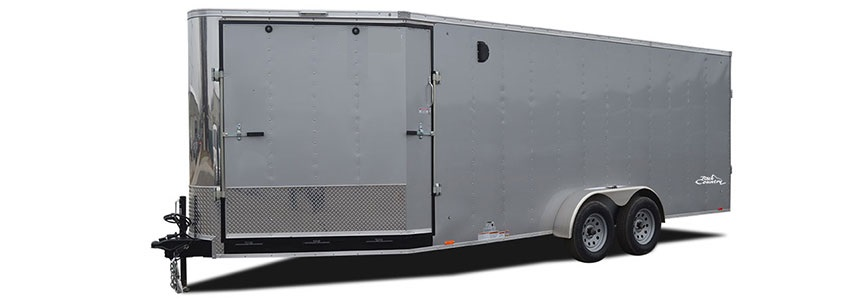 2017 Look Trailers Avalanche V Front Flat Top Snowmobile Trailer