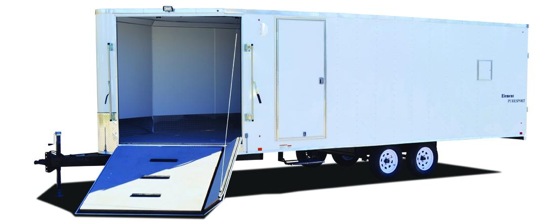 2020 Look Trailers Element Deckover 7k Snowmobile Trailer