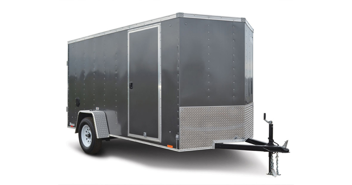 2017 Look Trailers Xlw 6 Wide Single Cargo Cargo / Enclosed Trailer