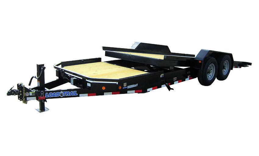 "2014 Load Trail 83"" X 21' Tandem Axle Low-Pro Tilt Deck"