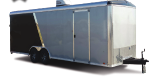 2021 Look Trailers Vision Auto Flat  Car / Racing Trailer