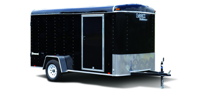 2017 Look Trailers Element Round Top Cargo Cargo / Enclosed Trailer