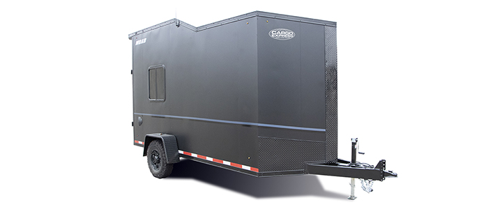 2021 Look Trailers Moab Cargo Dlx Blackout Flat  Cargo / Enclosed Trailer