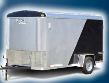 2017 Look Trailers Vision Cargo / Enclosed Trailer