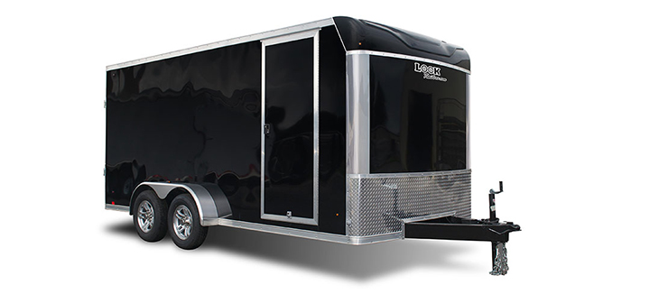 2017 Look Trailers Lxt Extreme Flat Top  Cargo / Enclosed Trailer