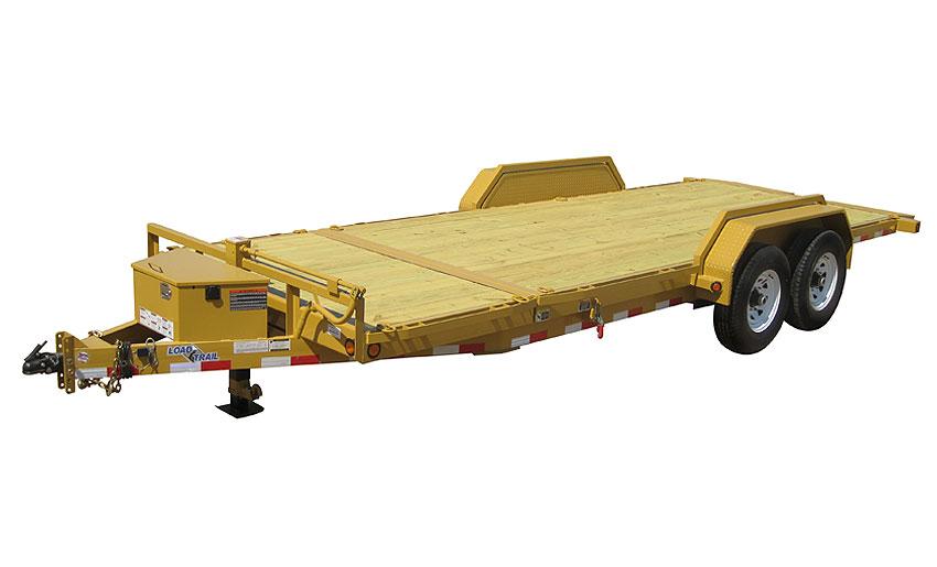 """2014 Load Trail 81.5"""" X 20' Tandem Axle Tilt Deck  w/Power"""
