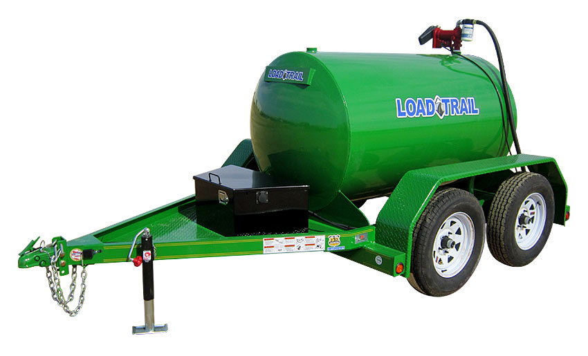 "2017 Load Trail 60"" X 10' 450 Gallon Tandem Axle Fuel Tank"