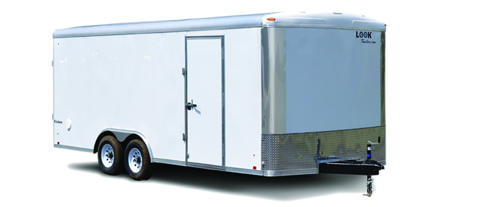2018 Look Trailers Vision Round Top / Rounded Front Car / Racing Trailer