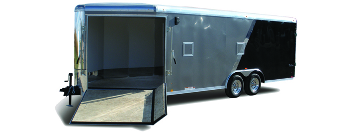 2018 Look Trailers Vision Puresport Auto Round Top Car / Racing Trailer