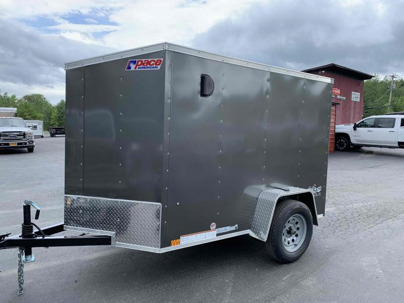 2022 Pace American Outback 5' Wide x 8' Long Cargo Deluxe Flat Enclosed Cargo Trailer