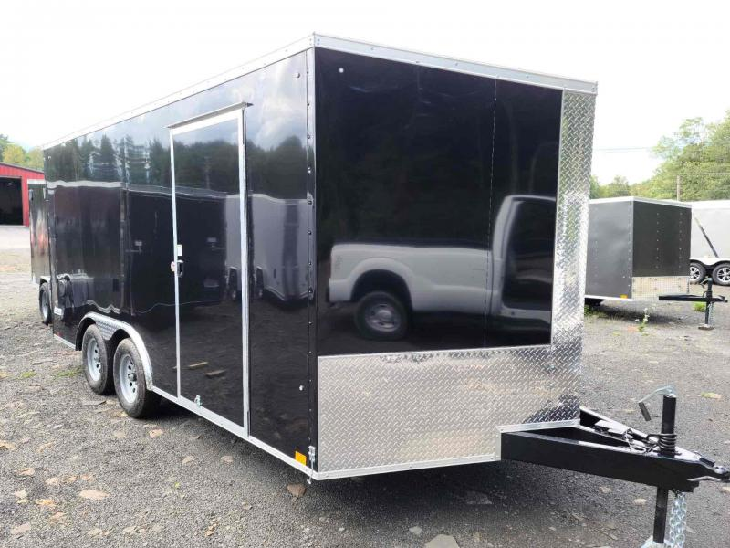 2022 Pace American JV8.516TE2SE Enclosed V- Nose Cargo Trailer With Ramp Door 8.5