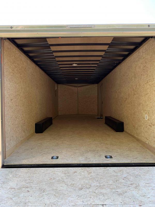 2022 Pace American JV85X24TE3SE Enclosed Cargo Car Hauler Trailer. 8.5' Wide x 24' Long + V-Nose