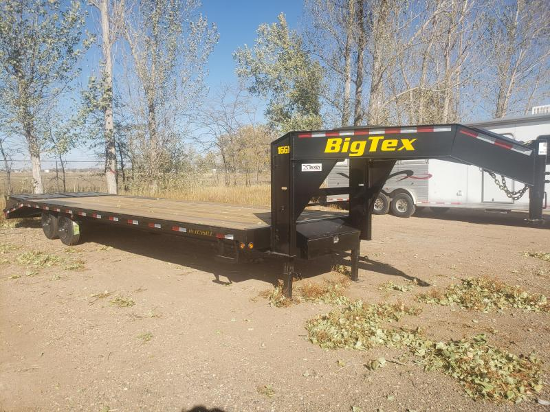 2021 Big Tex Trailers 16GN-25+5MR Gooseneck Flatbed Trailer w/ MEGA RAMPS