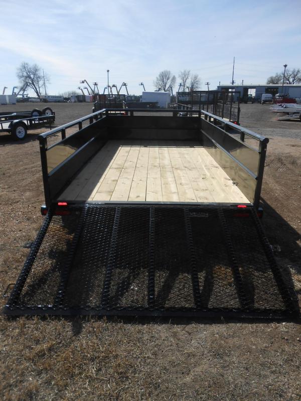 2021 Big Tex 70TV-14 Landscape / Utility Trailer w/ Solid Sides