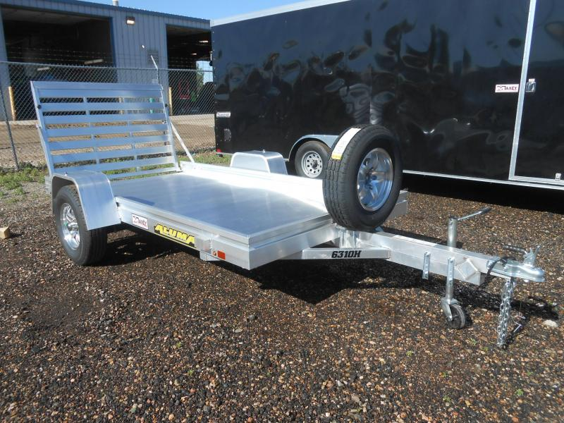 2021 Aluma 6310H All Aluminum Utility Trailer