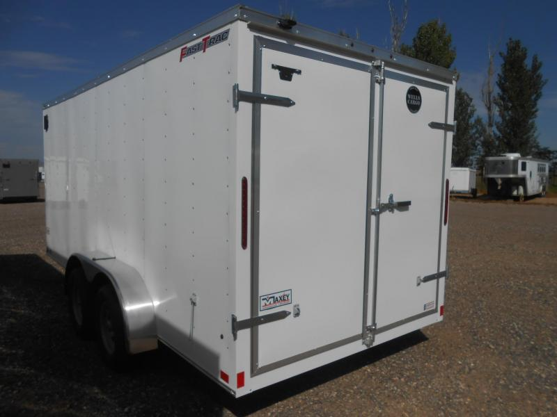 2021 Wells Cargo FT716T2-DBL DRS Enclosed Cargo Trailer