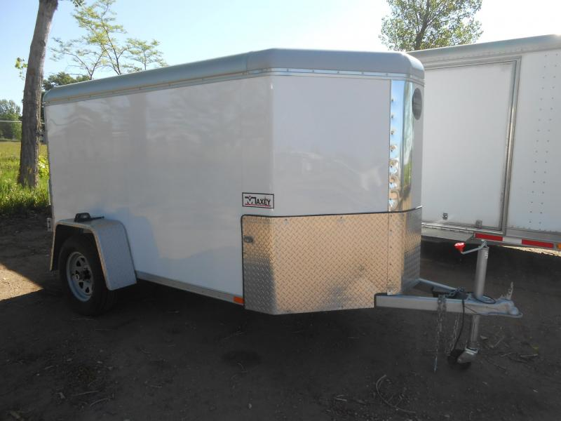 2015 Wells Cargo SW8-V-DBL DRS Enclosed Cargo Trailer
