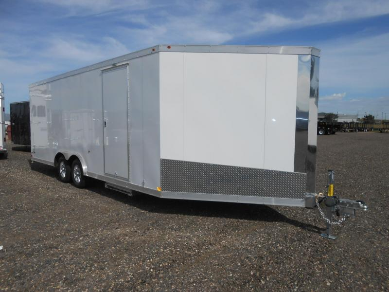 2019 Haulmark HASA85X22WT3 All Aluminum Race / Sport / Snowmobile Trailer