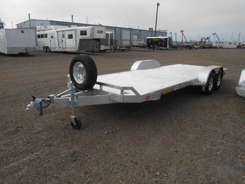 2021 Aluma 8218 Aluminum Car / Racing Trailer