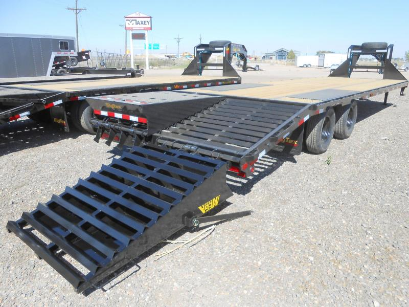 2021 Big Tex 22GN-25+5MR Gooseneck Flatbed w/ MEGA RAMPS