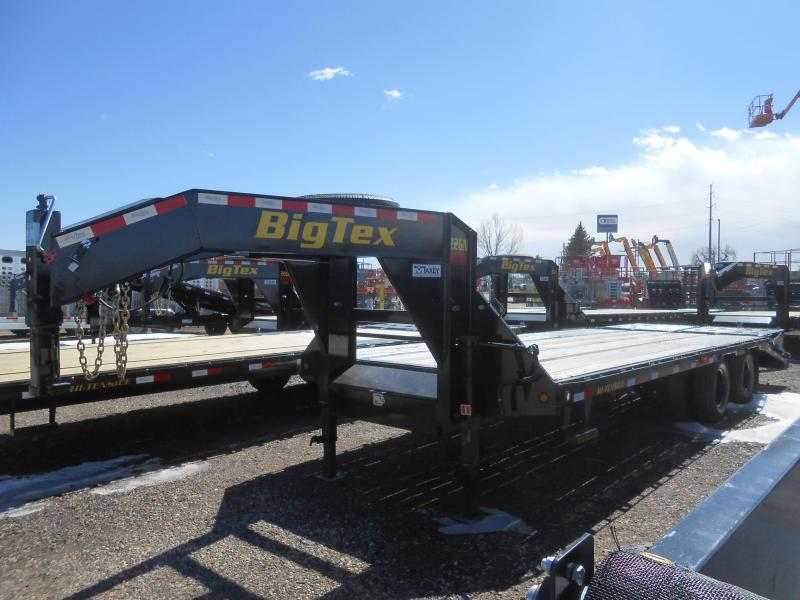 2021 Big Tex Trailers 22GN-20+5MR Gooseneck Flatbed Trailer