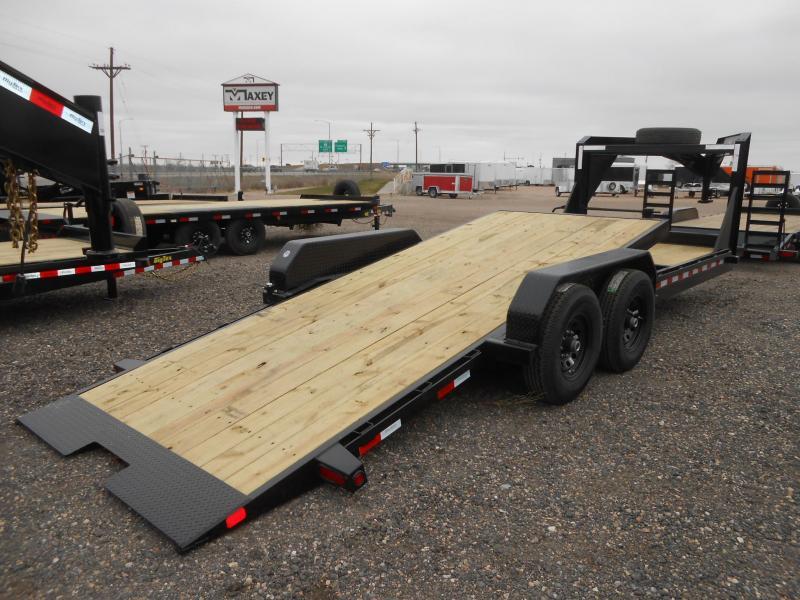2021 Big Tex 14TL-22GN Gooseneck Tilt Deck Equipment Trailer