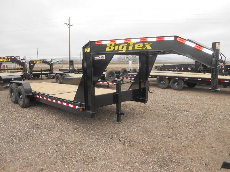 2021 Big Tex 14TL-22GN Gooseneck Tilt Deck Equipment Trailer