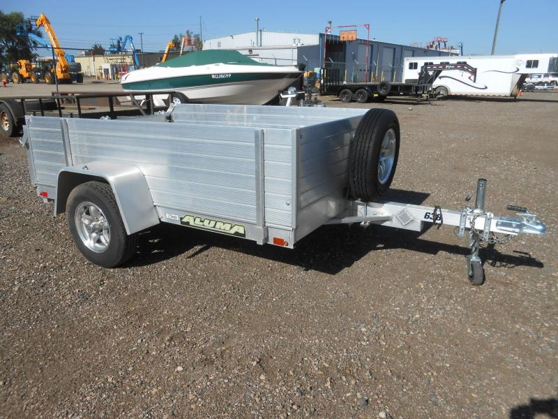 2018 Aluma 638BT-SR Solid Side All Aluminum Utility Trailer