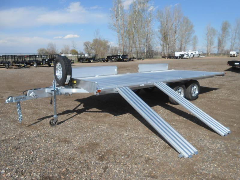 2021 Aluma A8818 All Aluminum 4-Place ATV Trailer
