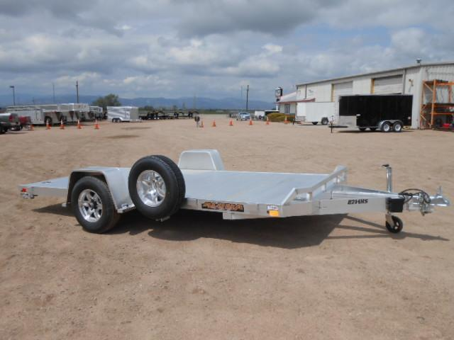 2021 Aluma 8214H All Aluminum Car / Utility Trailer