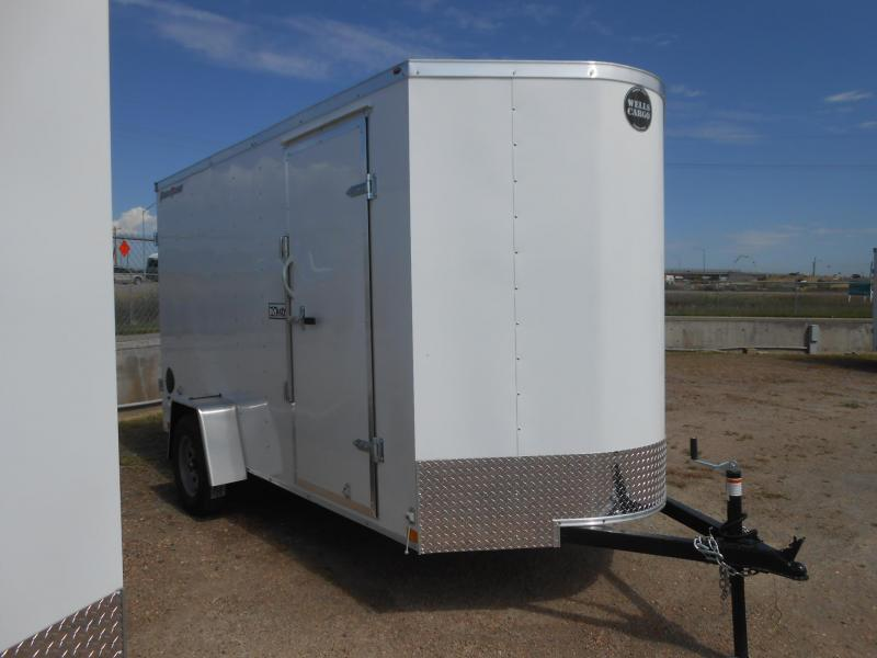 2021 Wells Cargo FT612S2-DBL DRS Enclosed Cargo Trailer