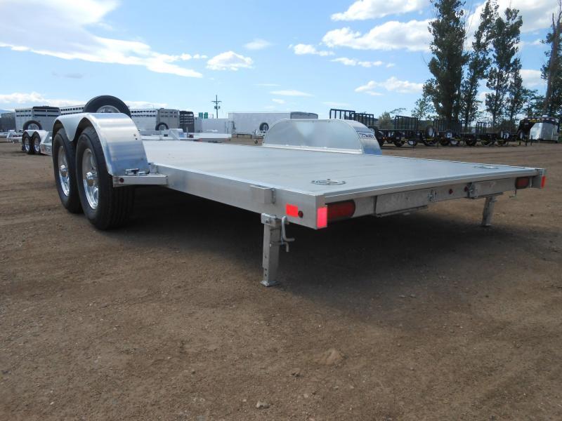 2021 Aluma 8218H Aluminum Car / Racing Trailer