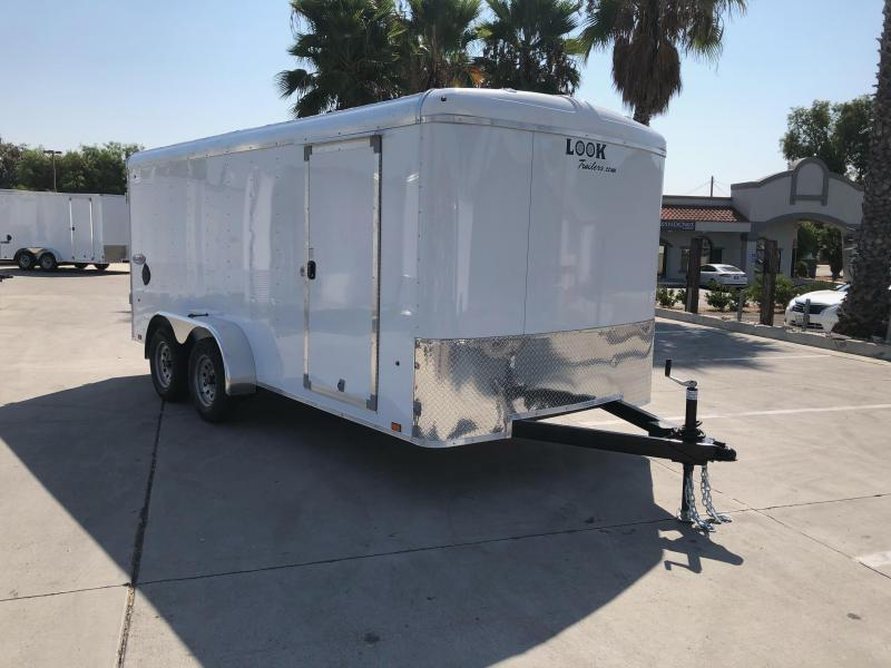 2021 Look Trailers Element 7' x 16' Cargo / Enclosed Trailer