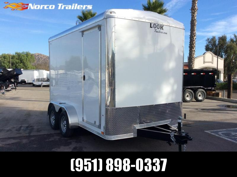 2020 Look Trailers Vision 7' x 12' Tandem Axle Enclosed Cargo Trailer
