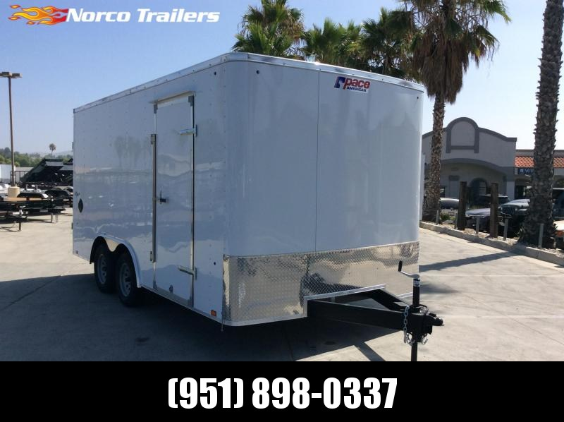 2022 Pace American Outback 8.5' x 16' 7K Car / Racing Trailer