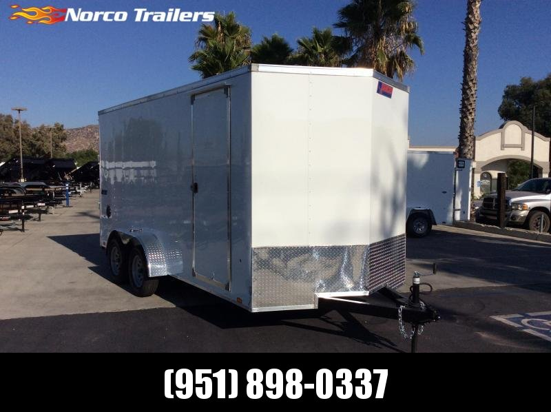 2022 Pace American Journey 7' x 16' Tandem Axle Enclosed Cargo Trailer